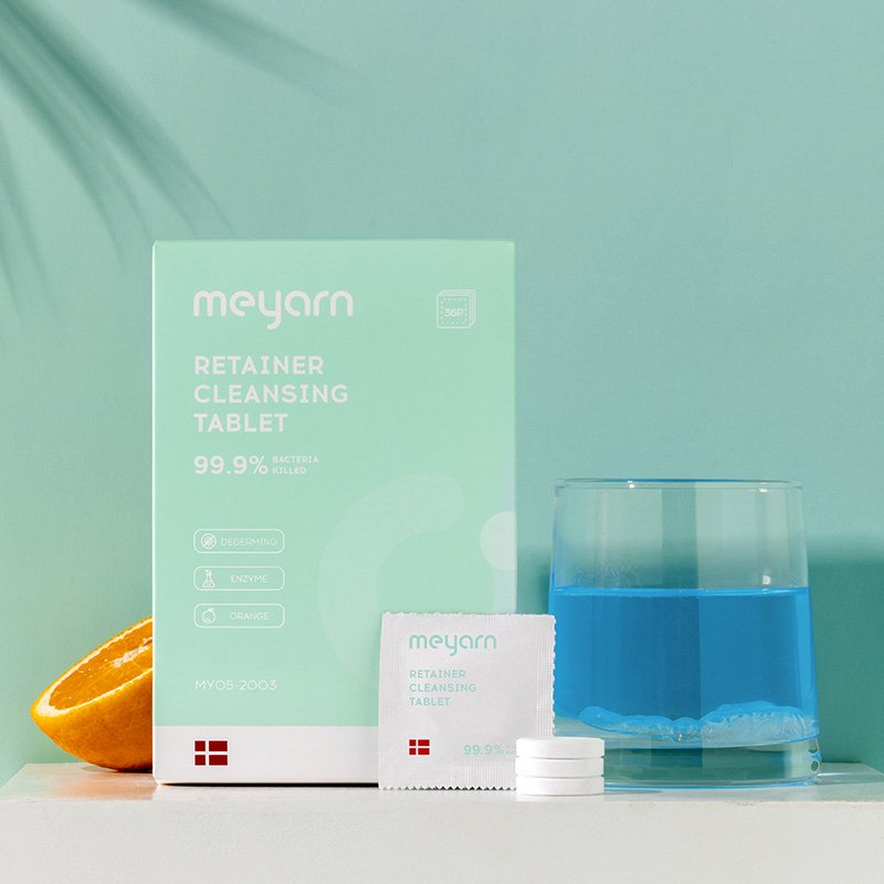 Retainer&Denture Cleaning Tablets - Meyarn Oral Care