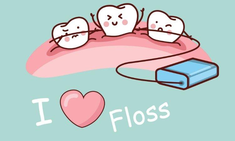 I love floss