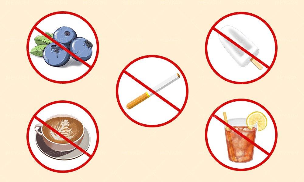 food bad for teeth whitening